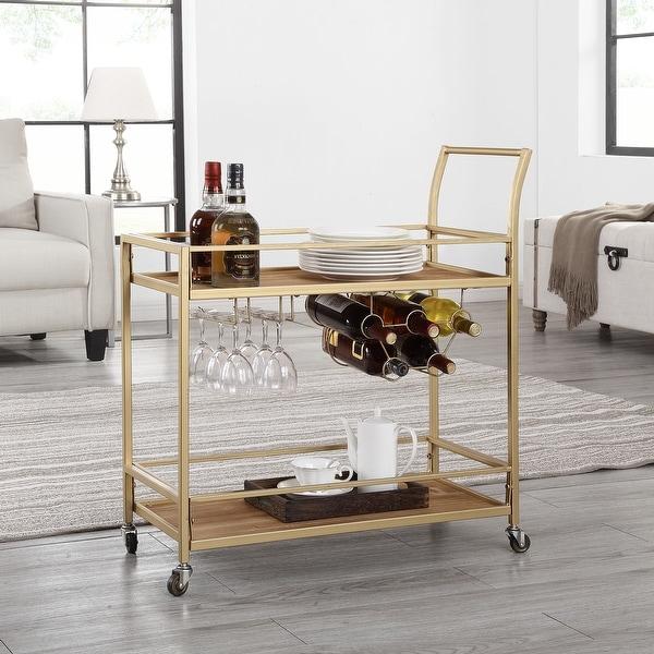 FirsTime & Co.® Francesca Bar Cart. Opens flyout.