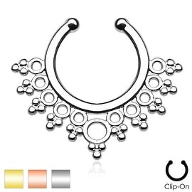 Lacey Edge Non-Piercing Septum Hanger (Sold Ind.)