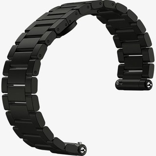 Motorola Watch Band for Moto 360 2nd Gen for Men 42mm - Black Metal
