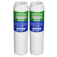 Replacement Water Filter For Amana AFD2535FES Refrigerator Water Filter by Aqua Fresh (2 Pack)