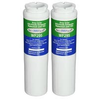 Replacement Water Filter For Whirlpool Filter 4 Refrigerator Water Filter by Aqua Fresh (2 Pack)