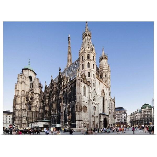 """St. Stephen's Cathedral, Vienna, Austria"" Poster Print"