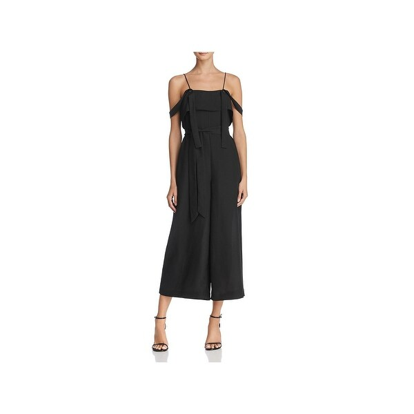 Shop C Meo Collective Womens Jumpsuit Wide Neck Off-The-Shoulder ... 347a60f5b