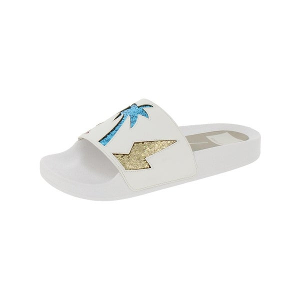 Dolce Vita Womens Traci Slide Sandals Open Toe Casual
