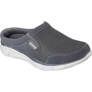 Skechers Men's Equalizer Coast to Coast Clog Charcoal