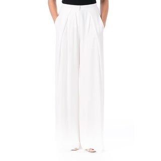 Elizabeth and James Womens Delfina High Waist Wide Leg Dress Pants