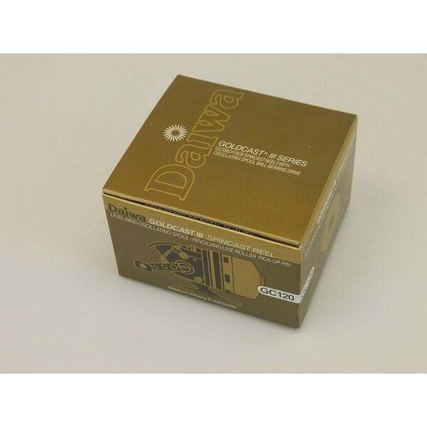 New Daiwa Goldcast III 120 Spincast Fishing Reel GC120