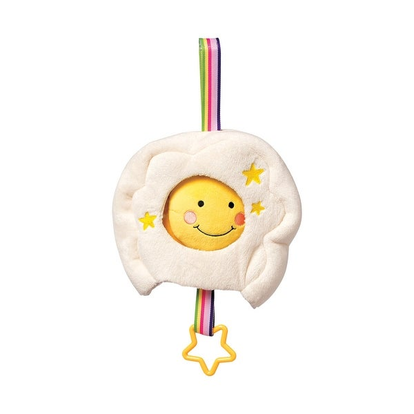 Children's Lullaby Sun in Cloud Musical Baby Pull Toy - multi