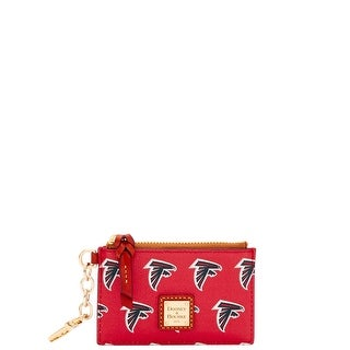 Dooney & Bourke NFL Atlanta Falcons Zip Top Card Case (Introduced by Dooney & Bourke at $78 in Jul 2018)