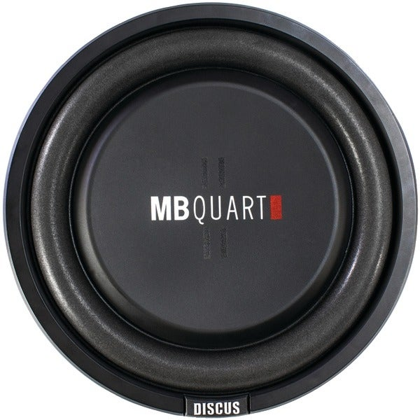 "Mb Quart Ds1-254 Discus Series 400-Watt Shallow Subwoofer (10"")"