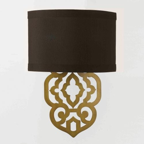 """AF Lighting 8425-2W Grill 2 Light 12"""" Wide Wall Sconce"""