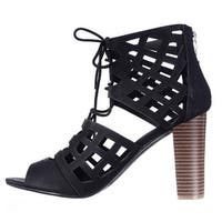 G by Guess Womens Iniko Open Toe Special Occasion Strappy Sandals - 9