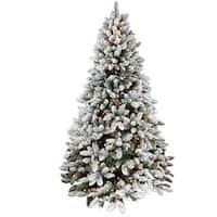 Santas Forest 63790 Pre-Lit Christmas Tree, 9'
