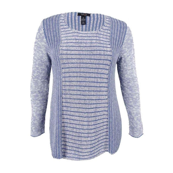 Style & Co. Women's Plus Size Marled Sweater