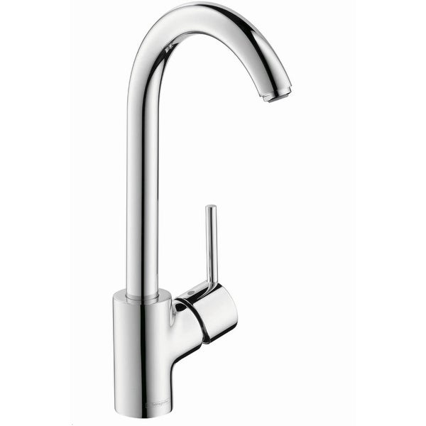 Hansgrohe 04870 Talis S Single Function Kitchen Faucet with Swivel Spout