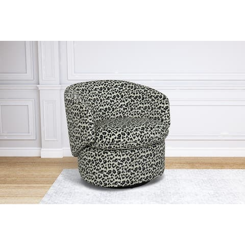Achorn Swivel Barrel Chair
