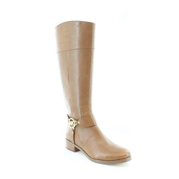 Michael Kors Fulton Riding Boots Women's Boots Luggage - 8.5