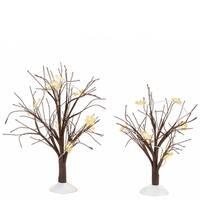 Winter Flurries Bare Branch