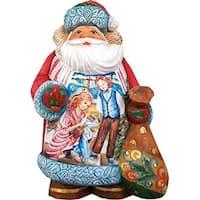 GDeBrekht  Illustrated Santa With Clara And The Nutcracker