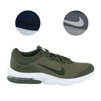 4b56d6a46a0 Shop Nike Men s Air Max Nostalgic Shoes - Wolf Grey White Black - On ...