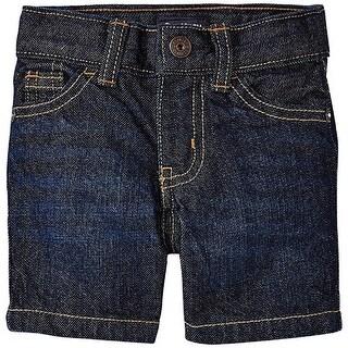 OshKosh B'gosh Little Boys' Straight Denim Shorts - Jack Frost, 4 Slim