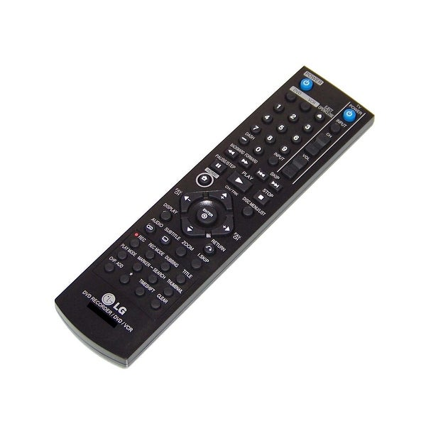 OEM LG Remote Control Originally Shipped With: RC397H, RC397H-M, RC897T, RC397HM