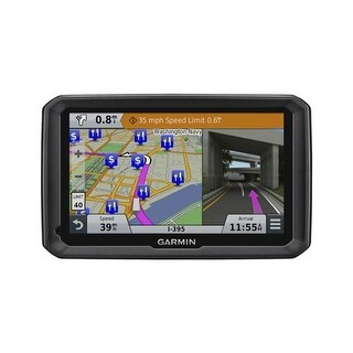 Refurbished Garmin dezl 770LMTHD 7-inch Touch Screen GPS w/ Free Lifetime Maps & HD Traffic Updates