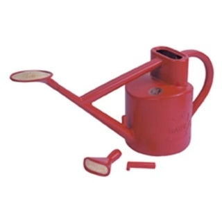 Haws V119 Practican Outdoor Plastic Watering Can - Red - 1.6 US Gallons