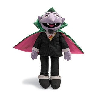 "Sesame Street 14"" Count von Count Character Plush - multi"