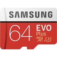 Samsung MicroSDXC EVO Plus Memory Card - 64GB Memory Card