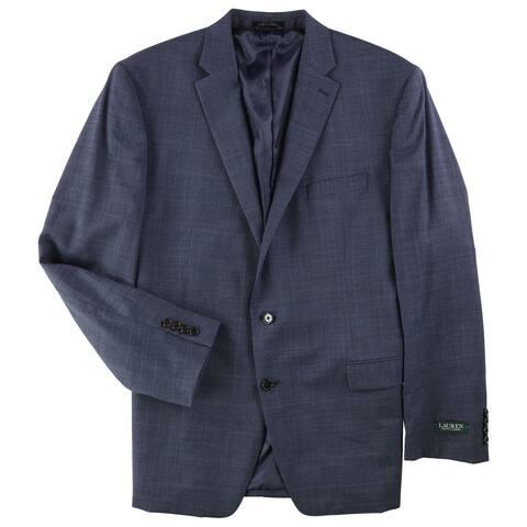 Ralph Lauren Mens Ultraflex Two Button Blazer Jacket