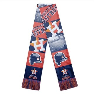 Houston Astros Scarf Printed Bar Design