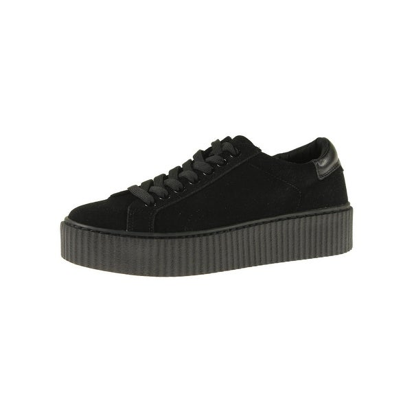 2c0fbb81bf6404 Shop Steve Madden Womens Casey Fashion Sneakers Solid Platform ...
