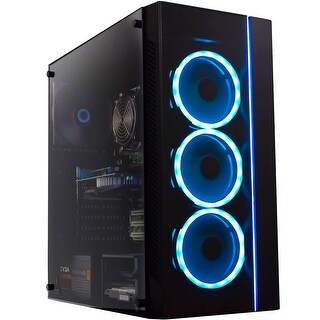 Link to Periphio Gaming PC Quad Core i5 8GB 120 SSD 1TB Win 10 GeForce GTX 1650 Computer Similar Items in Desktops