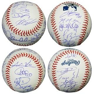 2016 Chicago Cubs Team Rawlings Official MLB Baseball 24 Sigs