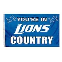Detroit Lions Flag 3x5 Country