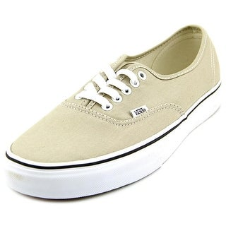 Vans Authentic Women Round Toe Canvas Gray Sneakers