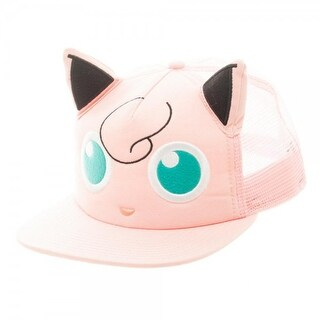 Pokemon Jigglypuff Big Face TruckerHat