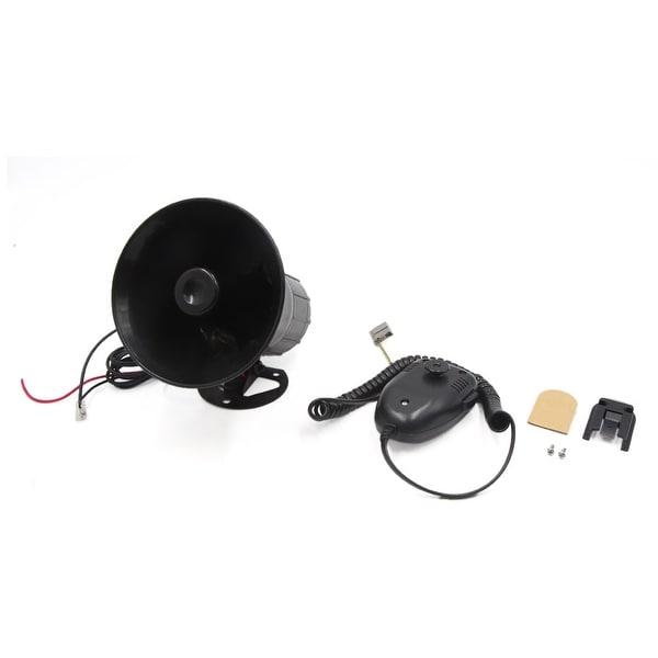Motorcycle Car 3 Tone Sounds Loud Speaker Security Warning Siren Horn DC 12V 50W
