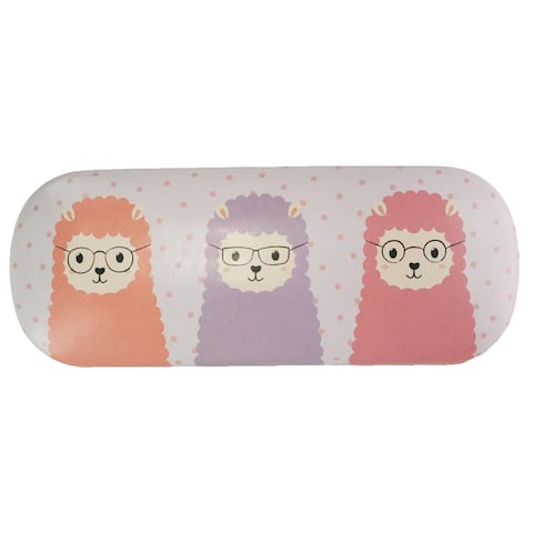 Sass & Belle Llama in Glasses Print Glasses Case - one size