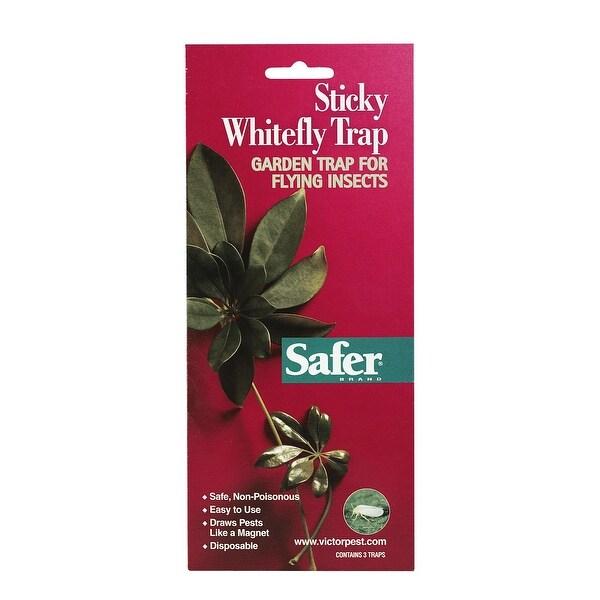 Safer 00340 Whitefly Trap Glue, 3 Pack