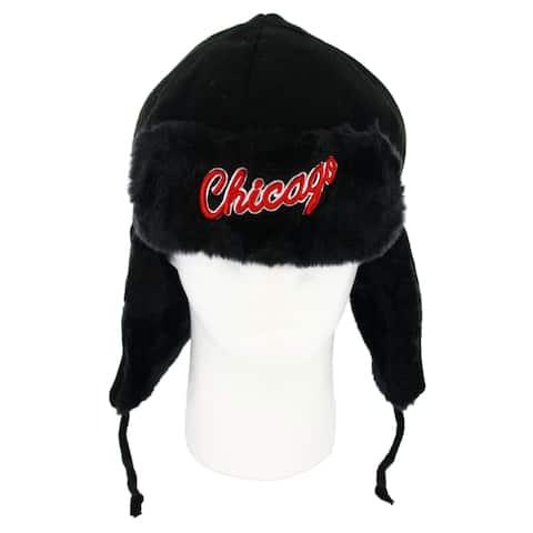 Chicago Bulls Team Trapper Winter Hat - Multi