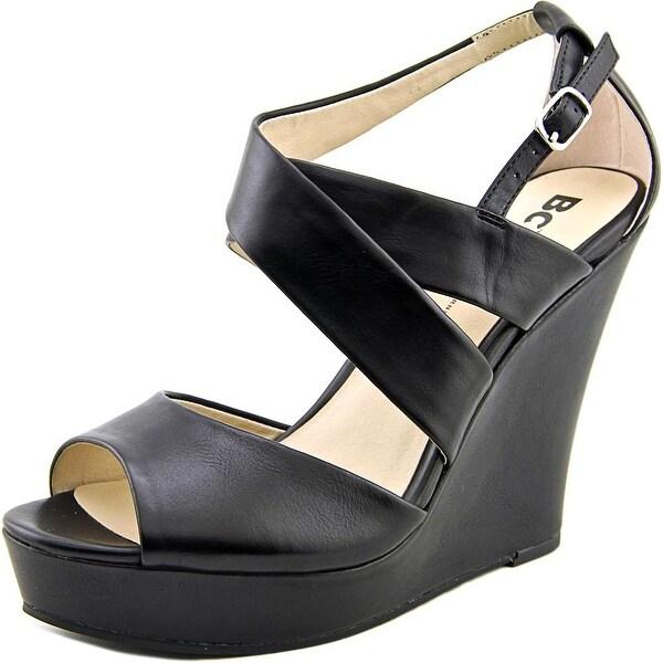BC Footwear Flicker Women Open Toe Synthetic Wedge Sandal