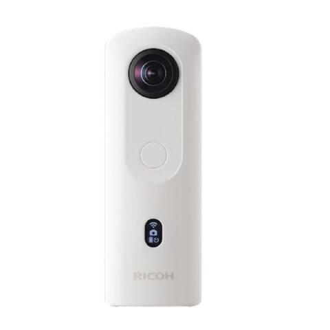 Ricoh Theta SC2 360-Degree 4K Spherical VR Camera (White)