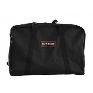 Bar H Equine Western Saddle Carrier Nylon Bag Black