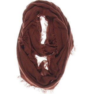 14th & Union Womens Fringe Loop Infinity Scarf - o/s