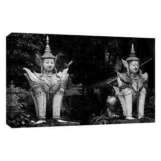 """PTM Images 9-126756  PTM Canvas Collection 10"""" x 8"""" - """"Stone Culture"""" Giclee Chinese Culture Art Print on Canvas"""