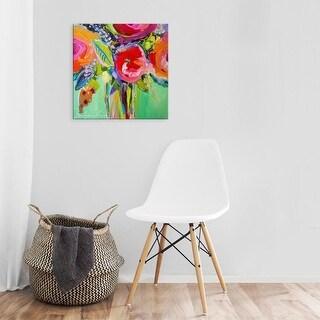 Easy Art Prints Jacqueline Brewer's 'Ode to Summer 1' Premium Canvas Art