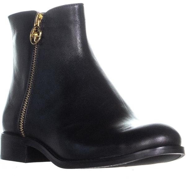 dfda6a3a2611 Shop Michael Kors Jaycie Flat Bootie High Ankle Boots