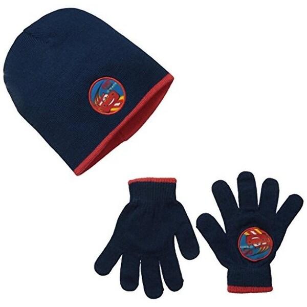 Disney Boys Hat & Glove Set Printed 2PC - o/s